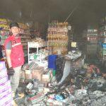 Minimarket di Sei Raya Terbakar Pagi ini