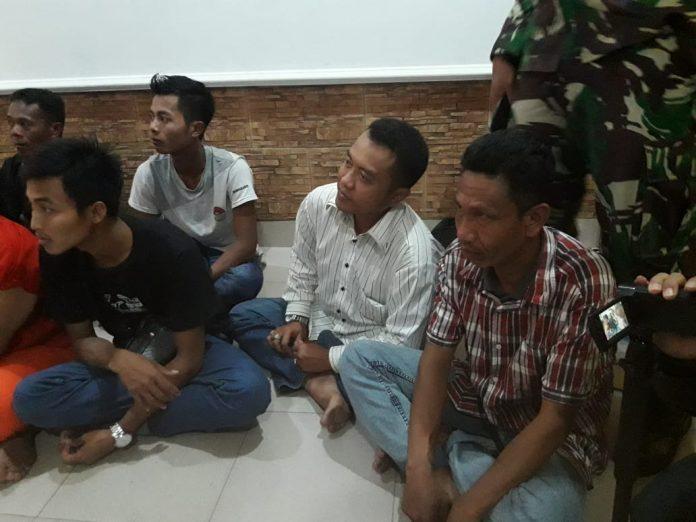 Agung Purnomo Kemeja Putih, Pegawai PNS Aktif Yang Diamankan Lanal Tanjungbalai Karimun