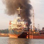 Kapal di PT MOS Meledak, 2 Karyawan Alami Luka Bakar Serius