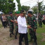 Amankan Daerah Rawan, 3 Peleton Kompi Senapan B Yonif RK 136/Tuah Sakti Diberangkatkan ke Maluku