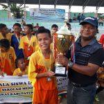 SMPN 1 Kundur Barat Juarai Turnamen Sepakbola Gala Siswa Indonesia