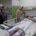 Elandra, Penderita Tumor Otak Menangis Saat Dijenguk Nyimas Novi