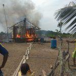 Korban Kebakaran di Pulau Manda Luput Perhatian Pihak Terkait