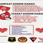 Ayo Donor Darah! Minggu Pagi, RDDK dan PMI Gelar Donor Darah di Pasar Puan Maimun