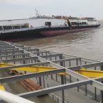Antisipasi Pencemaran, PT Timah Pasang Oil Boom di Sekuta KIP 10