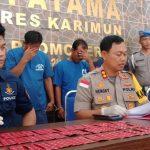 Selama Operasi Antik Seligi 2019, Satnarkoba Polres Karimun Ungkap 7 Kasus Narkotika