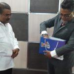 Kepala JKKD Pontian, Johor, Malaysia Temui Bupati Karimun Bahas Tentang Isu Narkoba
