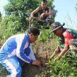 Kodim 0317/TBK Gelar Karya Bhakti Peringati Hari juang Kartika TNI-AD