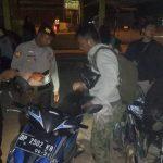 Antisipasi Kejahatan Jalanan, Polres dan Polsek Tebing Gelar Patroli Skala Besar