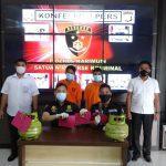 Satreskrim Polres Karimun Bekuk Dua Pelaku Pencuri Tabung Gas