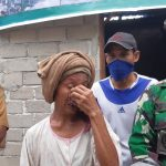 Ibu Anah Menangis Rumahnya Direhabilitasi Prajurit Kodim 0317/TBK