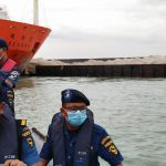 Kapal Berbendera Korsel Tabrak Tongkang Bermuatan Debu Granit