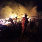 Kebakaran di Balai City & Garden! Empat Rumah Dilalap Api