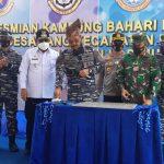 Danlantamal IV Resmikan Kampung Bahari Nusantara Desa Jang