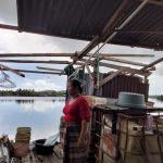 Saat Persiapkan Acara Doa Meninggalnya Suami, Atap Rumah Warga di Kolong Diterjang Angin