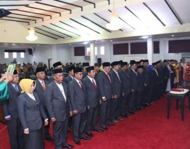 Rapat Paripurna Pengambilan Sumpah Janji Anggota DPRD Kabupaten Karimun Periode 2019-2024
