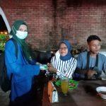 PMII Karimun Gelar Aksi Sosial Tingkatkan Kesadaran Masyarakat Gunakan Masker