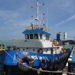 Diduga Ditinggal Kabur Nahkoda, Tug Boat Asal Malaysia Terdampar di Perairan Karimun